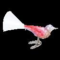 Vogel Leichtfuß 8m Nostalgia Inge-Glas® Manufaktur Christbaumschmuck