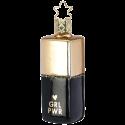 Hello Beauty Girl Power 8cm Inge-Glas® Weihnachtsschmuck schwarz gold