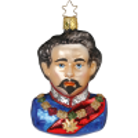König Ludwig II. Bayerische Weihnacht schönes Bayern Inge-Glas® Manufaktur Glasschmuck
