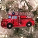 Feuerwehr 11,5cm Schatzhauser Glas und Weihnachtsschmuck