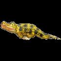 Krokodil 17cm Inge-Glas® Manufaktur Weihnachtsschmuck