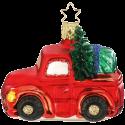 Lastwagen, Auto 6,5cm, Christbaumschmuck Inge-Glas® Manufaktur