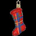 Strumpf, Gabenstrumpf 10cm Inge-Glas® Weihnachtsschmuck