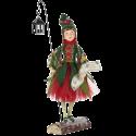 Waldelf Mädchen mit Laterne 68cm Katherine's Collection