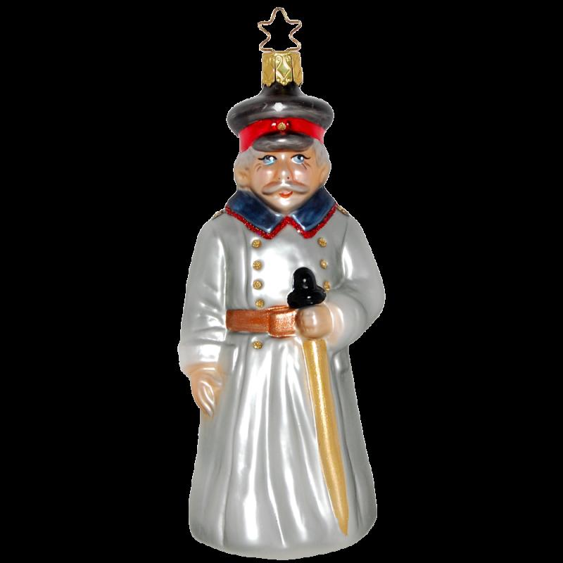 Hauptmann von Köpenick 15,5cm Inge-Glas® Manufaktur Glasschmuck
