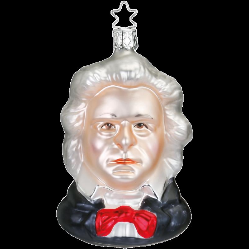 Ludwig van Beethoven 11cm Inge-Glas® Manufaktur Glasschmuck