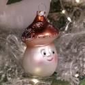 Herr Pilz 8cm Schatzhauser, Thüringer Glas und Weihnachtsschmuck