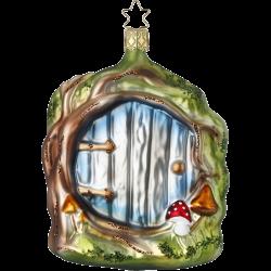 Das Tor zur Anderswelt 12cm Inge-Glas®Schmuck Gnome und Feen