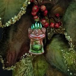 Gnarz aus der Anderswelt 9cm Inge-Glas®Schmuck Gnome und Feen
