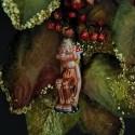 Gloigan Gnom aus der Anderswelt 13,5cm Inge-Glas®Schmuck Gnome und Feen