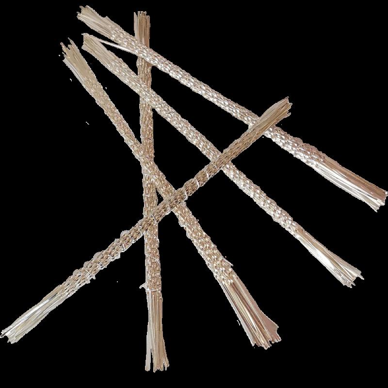 Christbaum Konfekthalter Glasschmuck Aufhänger 11cm silber