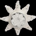 Sternreflex viktorianisch 10cm Inge-Glas® Nostalgischer Weihnachtsschmuck