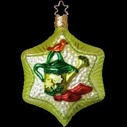 Gartenglück Frühjahrsstern 10cm Inge-Glas® Weihnachtsschmuck