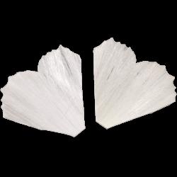 Schmetterlingsflügel 1 Paar gesteift Glasschmuck Christbaumschmuck