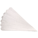 Vogelschwanz gesteift 8cm Glasschmuck Christbaumschmuck