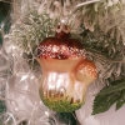 Marone 7cm Schatzhauser Thüringer Glas und Weihnachtsschmuck