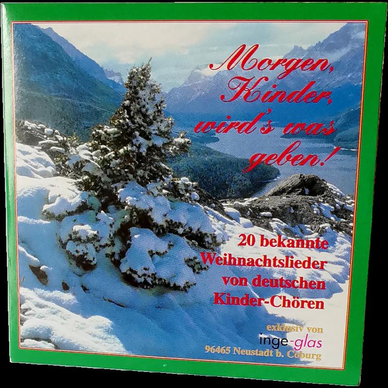 Morgen Kinder wird's was geben - Weihnachtslieder CD von Inge-Glas