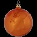 Weihnachtskugel Set Ø 8cm 6 St. / Box orange Schatzhauser Thüringer Glas und Weihnachtsschmuck