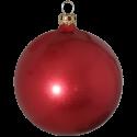 Weihnachtskugel Set Ø 8cm 6 St. / Box rot Schatzhauser Thüringer Glas und Weihnachtsschmuck