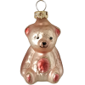kleiner Bär rosa Schatzhauser Thüringer Glas und Weihnachtsschmuck