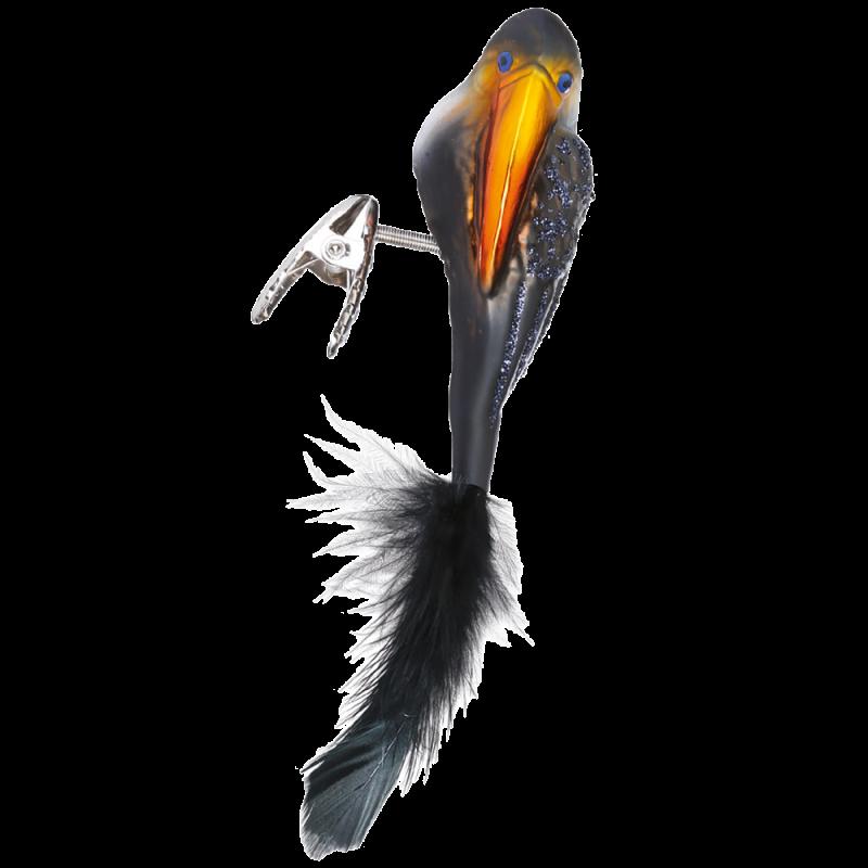 Tukan 8,5cm Vogel Inge-Glas® Weihnachtsschmuck