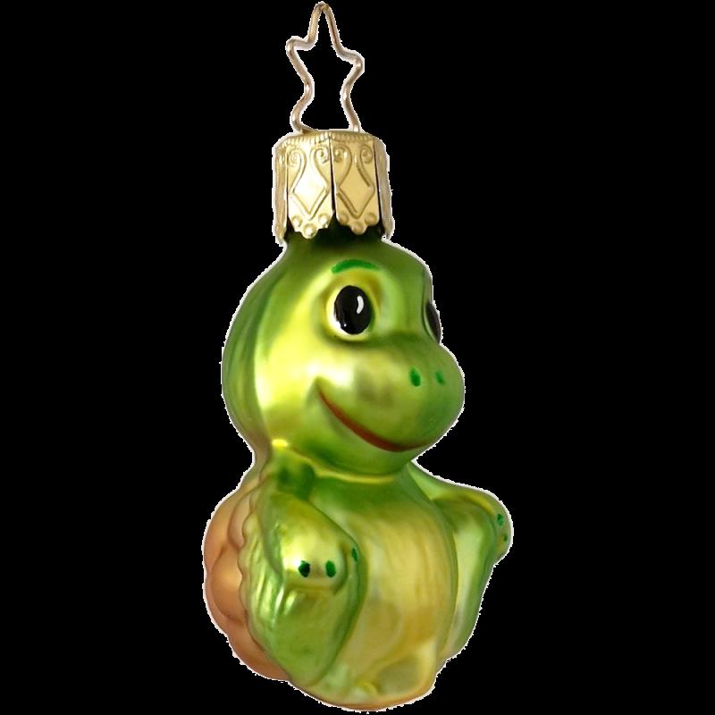Schildkröte, Mini Schildkröte 6cm Miniaturen von Inge-Glas und Christbaumschmuck