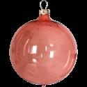 Weihnachtskugeln Set, 6 Kugeln Ø 8cm hummer transparent, Thüringer Glas Weihnachtsschmuck