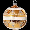 Weihnachtskugel Set Ø 8cm 6 St. / Box barock Schatzhauser Thüringer Glas und Weihnachtsschmuck