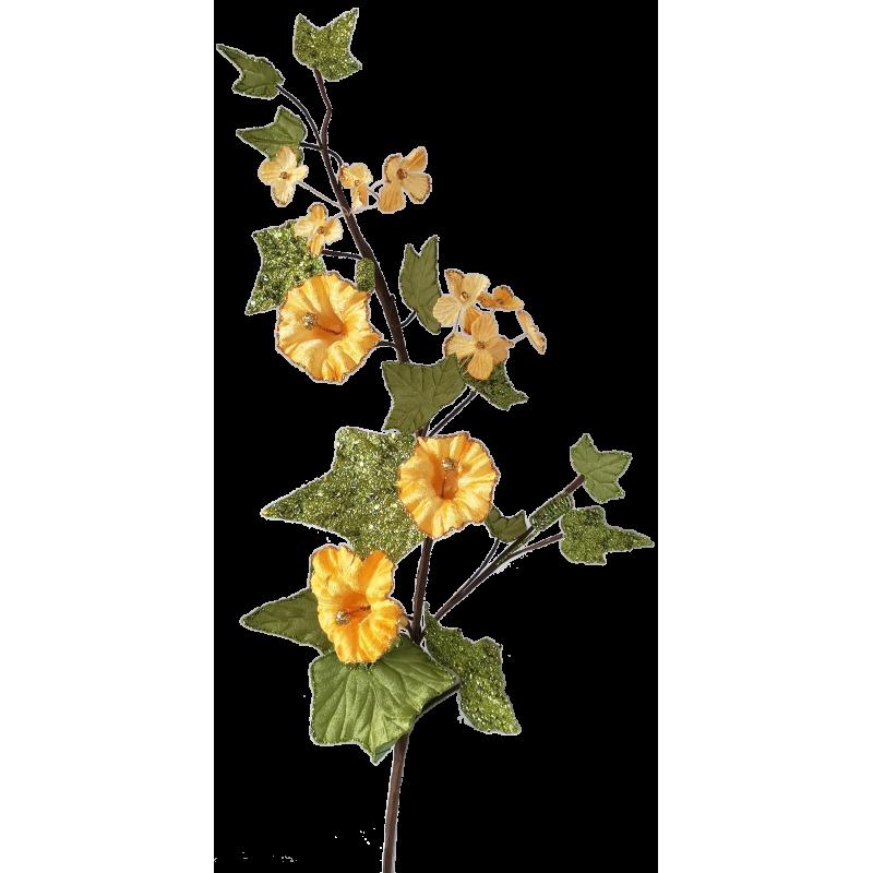 Guten Morgen Trompetenblume 72cm - florale Fest- und Weihnachtsdeko