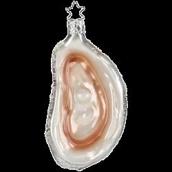 Auster Muschel 8,5cm Inge-Glas® Köstlichkeiten Weihnachtsschmuck