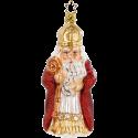 Sankt Nikolaus 14cm Inge-Glas® Schmuck Christbaumschmuck