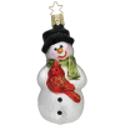 Hurra, es ist Winter Schneemann 10,5cm Inge-Glas® Weihnachtsträume
