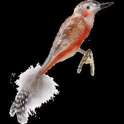 Specht 12cm Vogel Inge-Glas® Weihnachtsschmuck