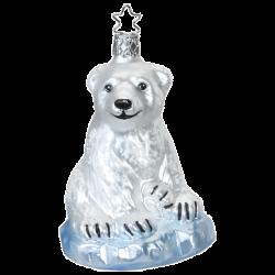 Mama Eisbär 11cm Inge-Glas Iceland Wonder World Weihnachtsschmuck