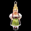 Resi bayerische Weihnacht 12,5cm Inge-Glas® Weihnachtsschmuck