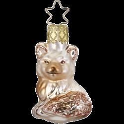 kleiner Fuchs, Mini Fuchs 5,5cm Inge-Glas® Miniaturen Weihnachtsschmuck