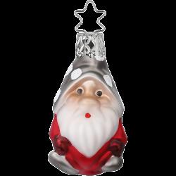Zwerg, Mini Zwerg 6cm Inge-Glas® Miniaturen Weihnachtsschmuck