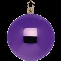 Christbaumkugeln dunkellila glänzend Ø 6-15cm Inge-Glas® Manufaktur Weihnachtskugeln