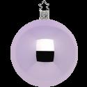 Christbaumkugeln zartviolett opal Ø 6 - Ø 15cm Inge-Glas® Manufaktur Weihnachtskugeln